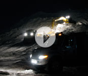 Video of Precision bobcats clearing the snow.